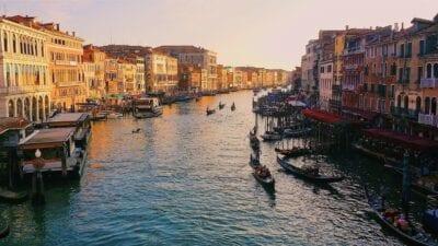 Gran Canal Venecia Italia Italia