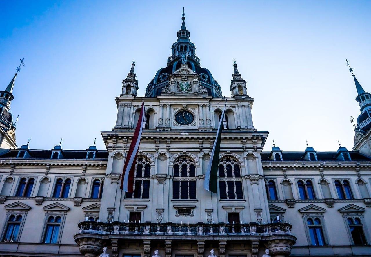 Graz Estiria Ayuntamiento Austria