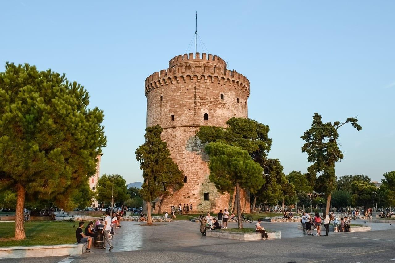 Grecia Thessaloniki Torre Blanca Grecia