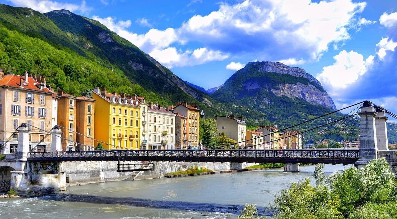Grenoble Ciudad Francia Francia