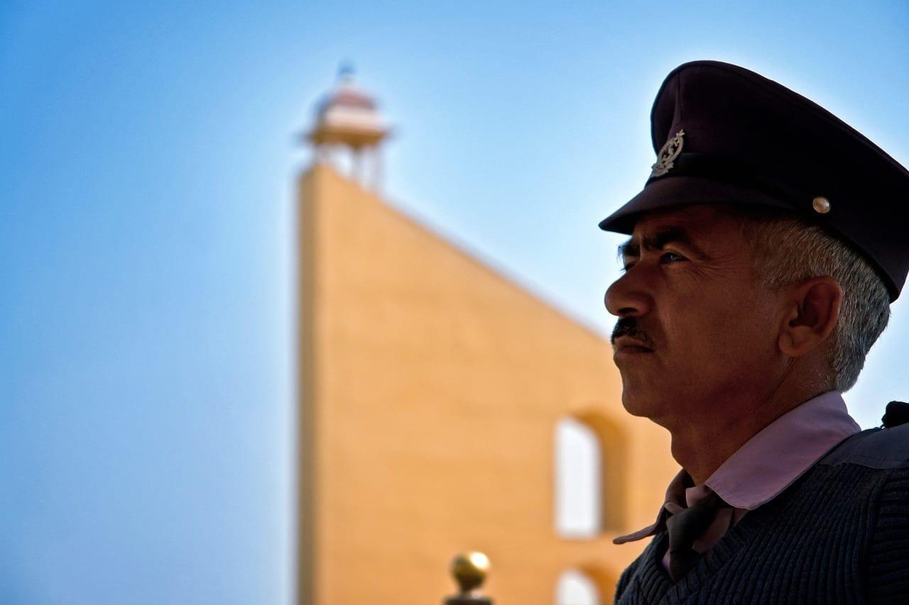 Guardia Jantar Mantar Jaipur India