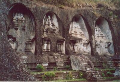 Gunung Kawi, Tampak Ring Ubud, Bali Indonesia