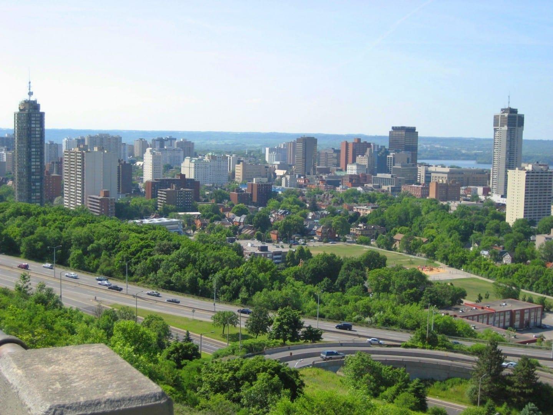 Hamilton, Ontario skyline Hamilton Canadá