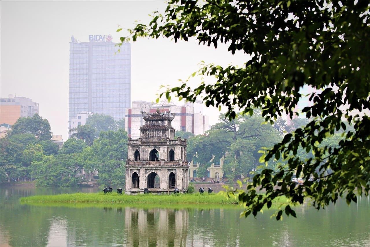 Hanoi Vietnam Lago Vietnam