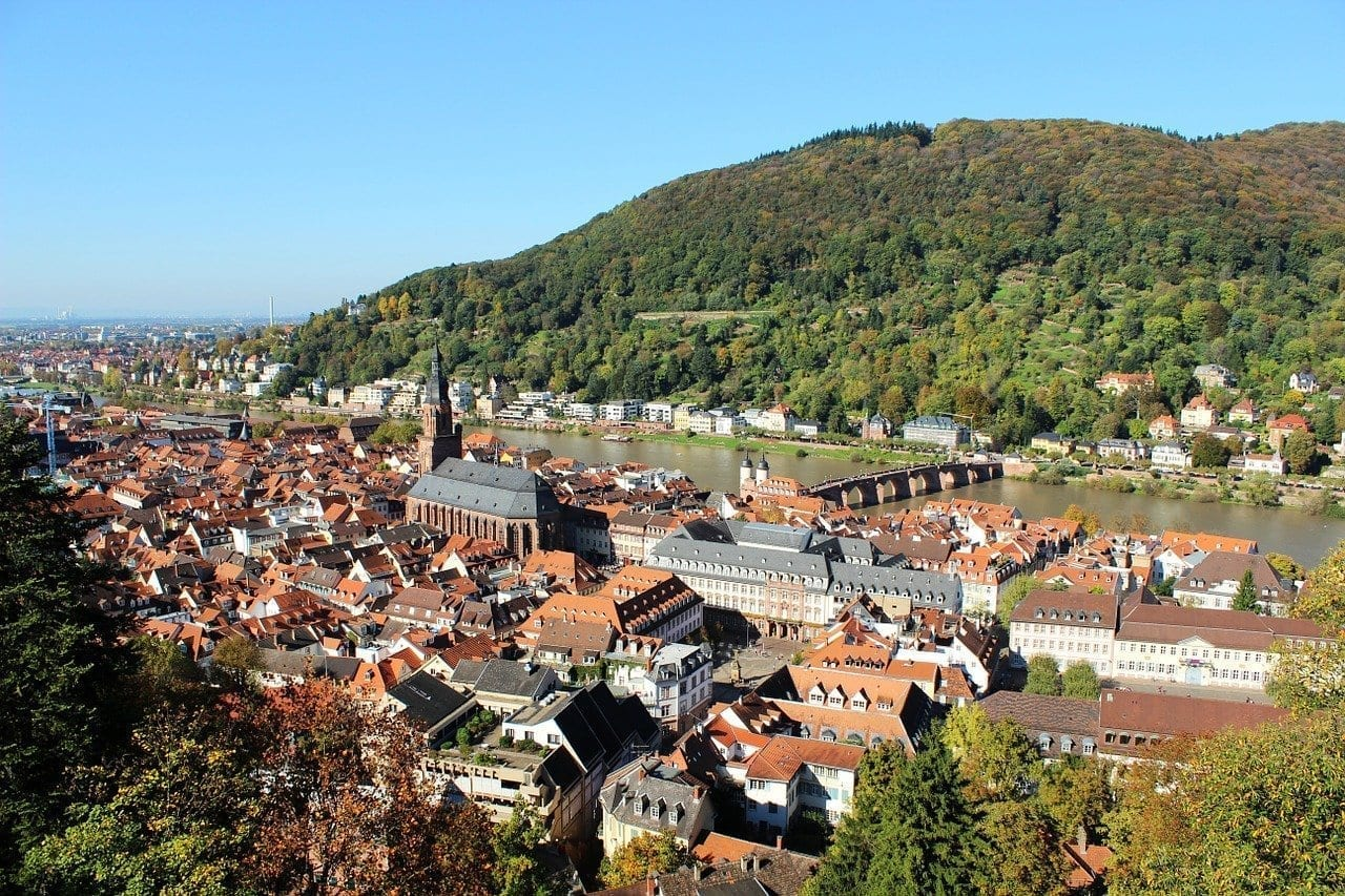 Heidelberg Paisaje Alemania Alemania