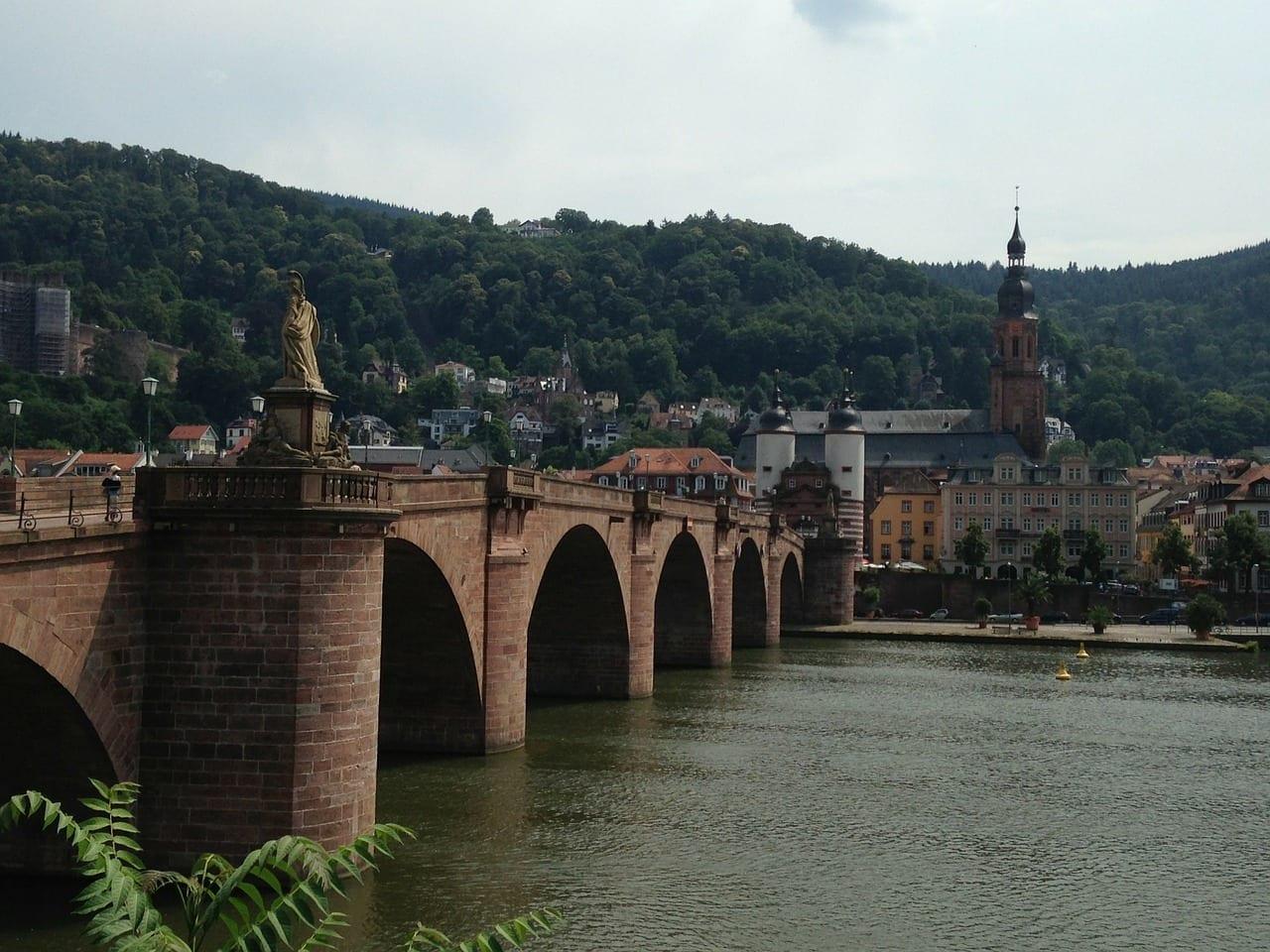 Heidelberg Puente Karl-theodor Alemania