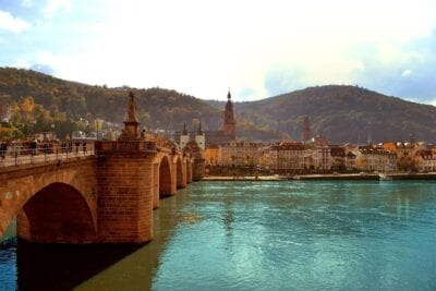 Heidelberg Puente Paisaje Alemania