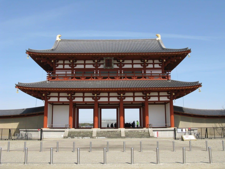 Heijokyo Suzakumon Nara Japón