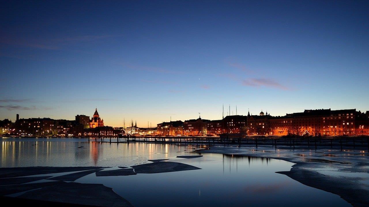 Helsinki Finlandés Invierno Finlandia