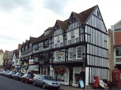 High Street, Stratford-upon-Avon. Stratford-upon-Avon Reino Unido