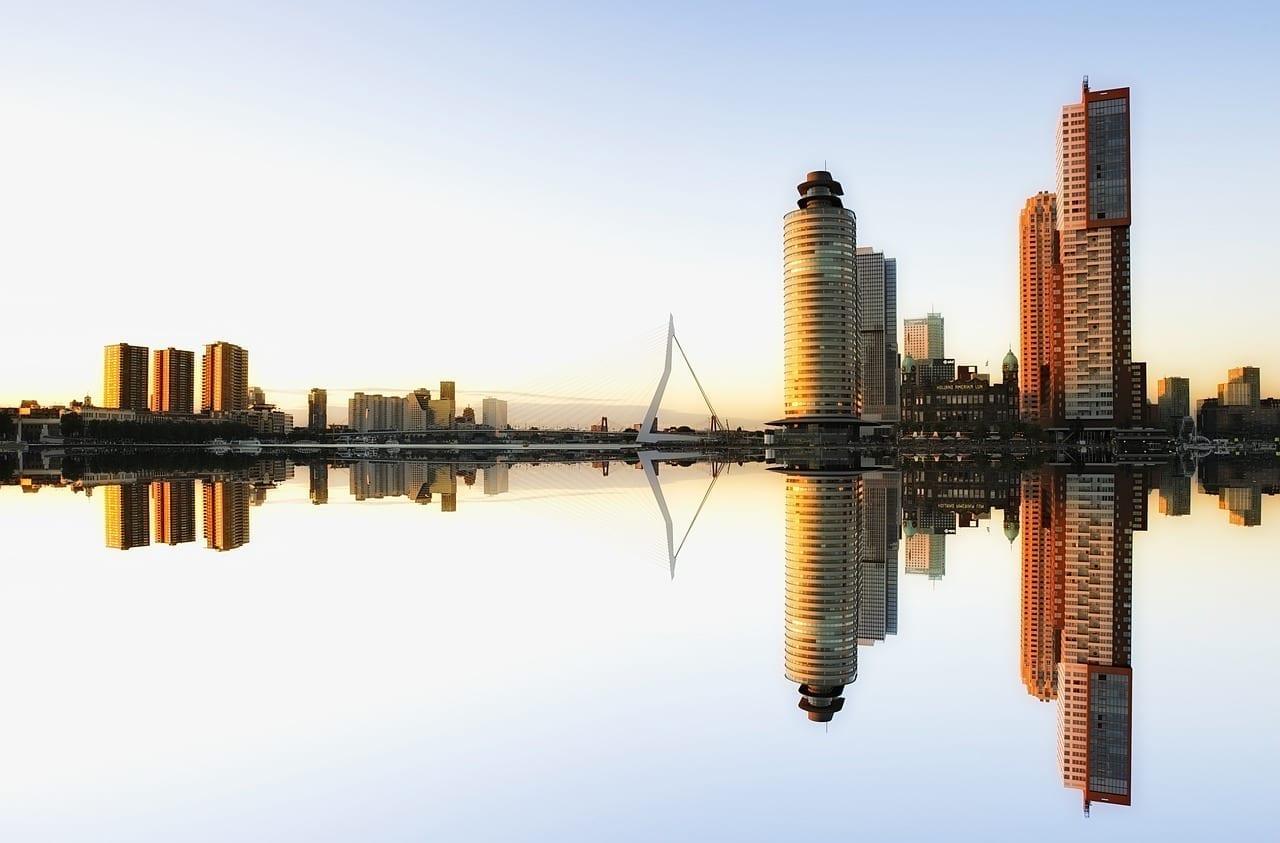 Horizonte Rotterdam Arquitectura Países Bajos