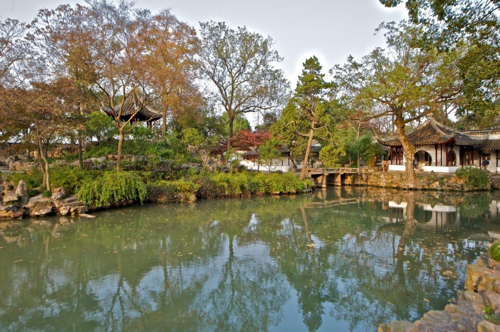 Humilde Jardín del Administrador 拙政园 Suzhou China