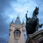 Iasi Rumania El Palacio De La Cultura Rumania