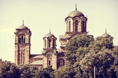 Iglesia Belgrado Serbia Serbia