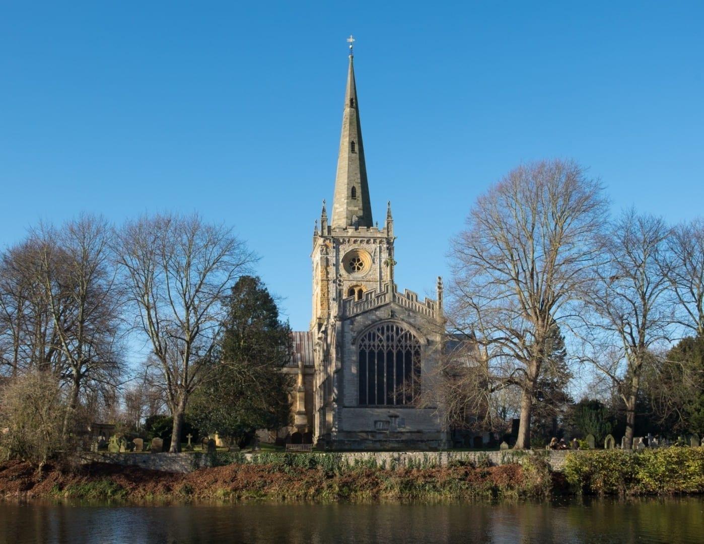 Iglesia de la Santísima Trinidad Stratford-upon-Avon Reino Unido