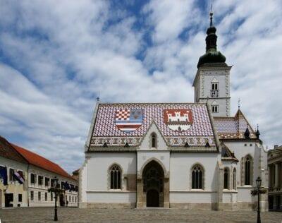 Iglesia de San Marcos Zagreb Croacia