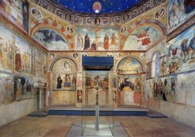 Iglesia de Santa María en Solario en el monasterio de Santa Giulia Brescia Italia