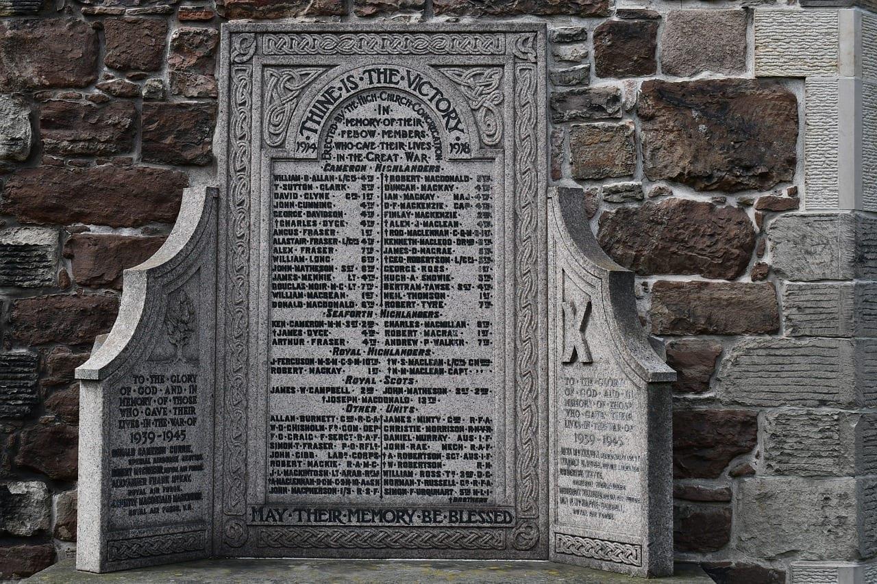 Iglesia Escocia Inverness Reino Unido
