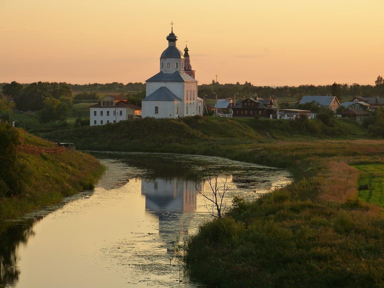 Iglesia Suzdal Ortodoxa Rusia