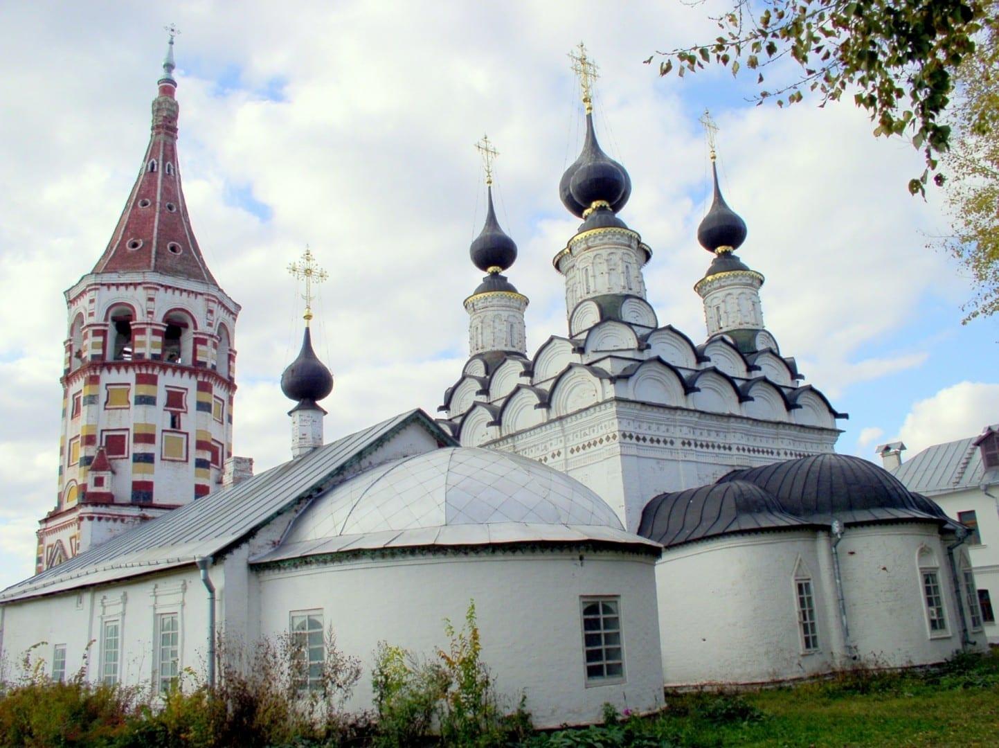 Iglesias de Antipio y Lázaro Suzdal Rusia