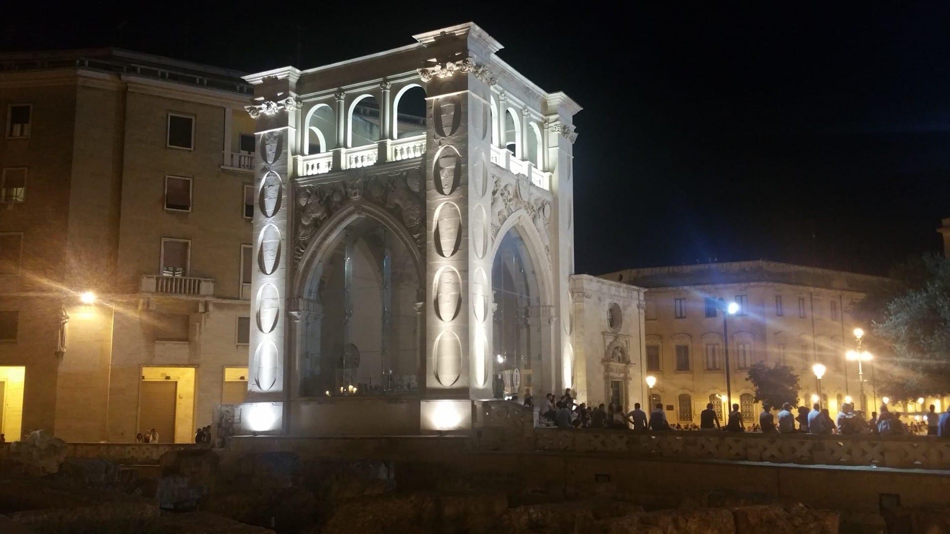 Il Sedile de noche Lecce Italia