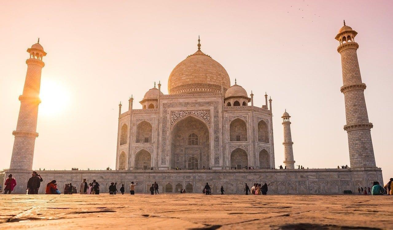 India Taj-mahal Agra India