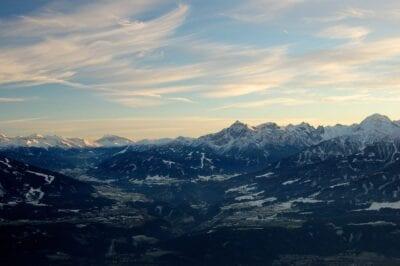 Innsbruck Montañas La Nieve Austria