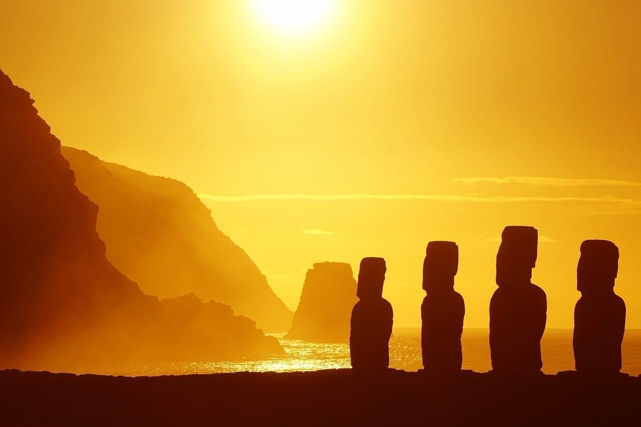 Isla De Pascua Rapa Nui Escultura Chile