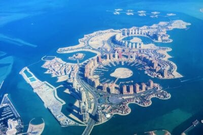 Islas Artificiales Qatar Doha Catar
