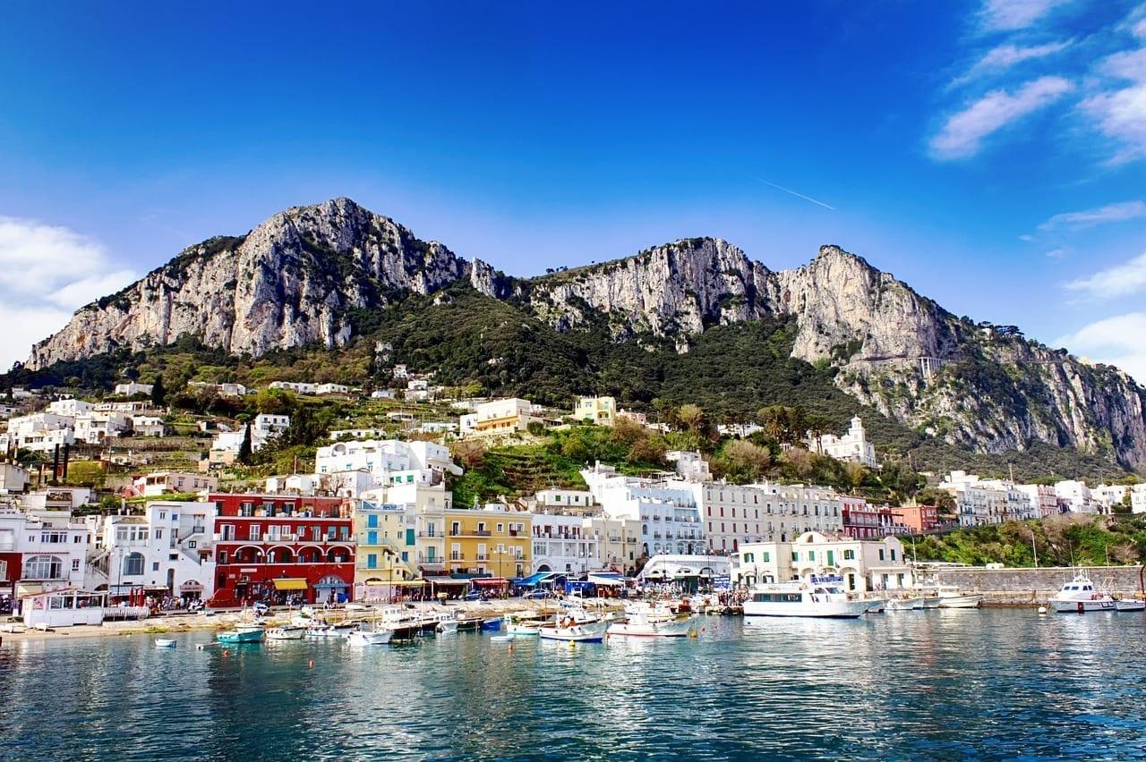 Italia Capri Mar Italia