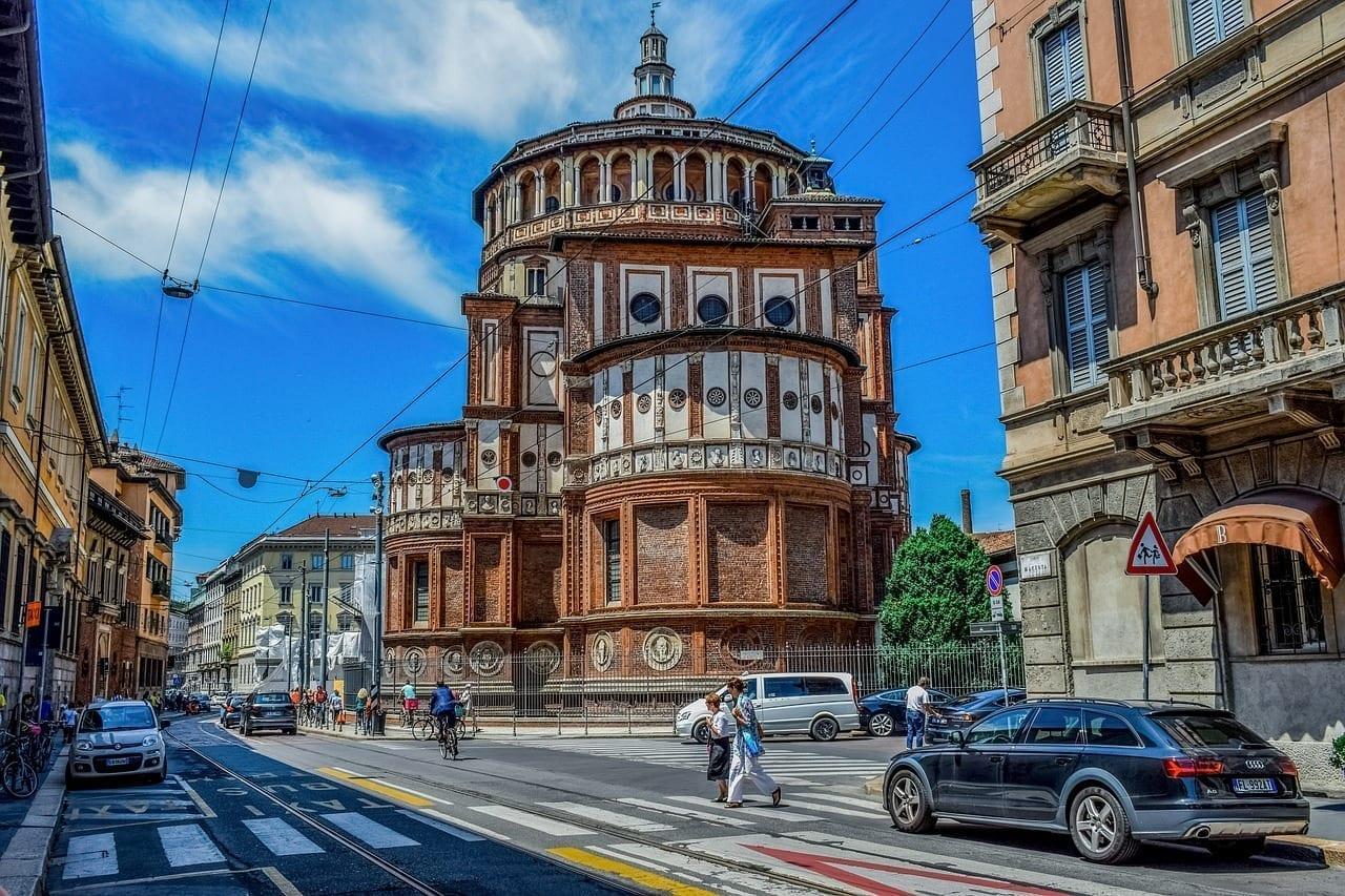 Italia Milán Milano Italia