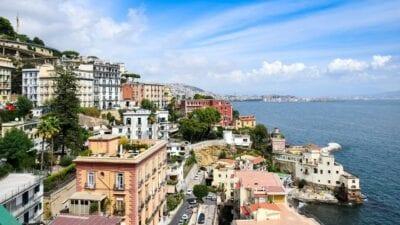 Italia Nápoles Playa Italia