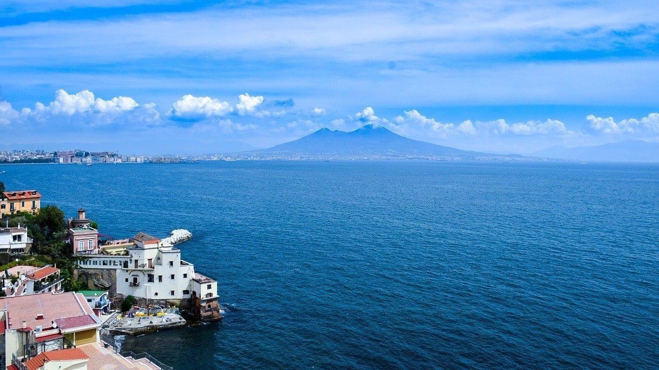 Italia Nápoles Vezuv Italia