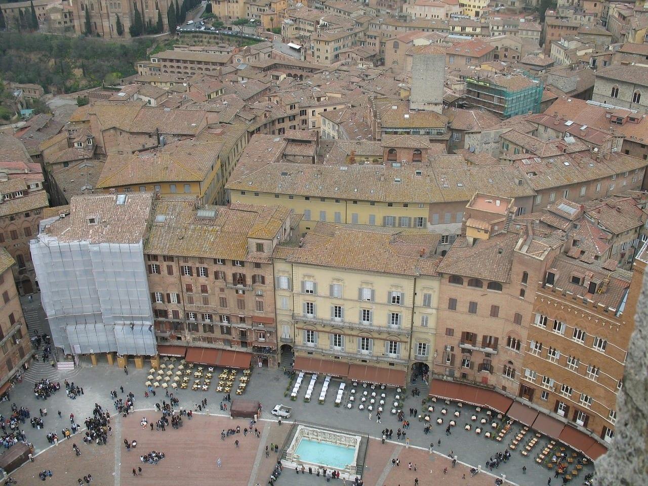 Italia Siena Edificios Italia