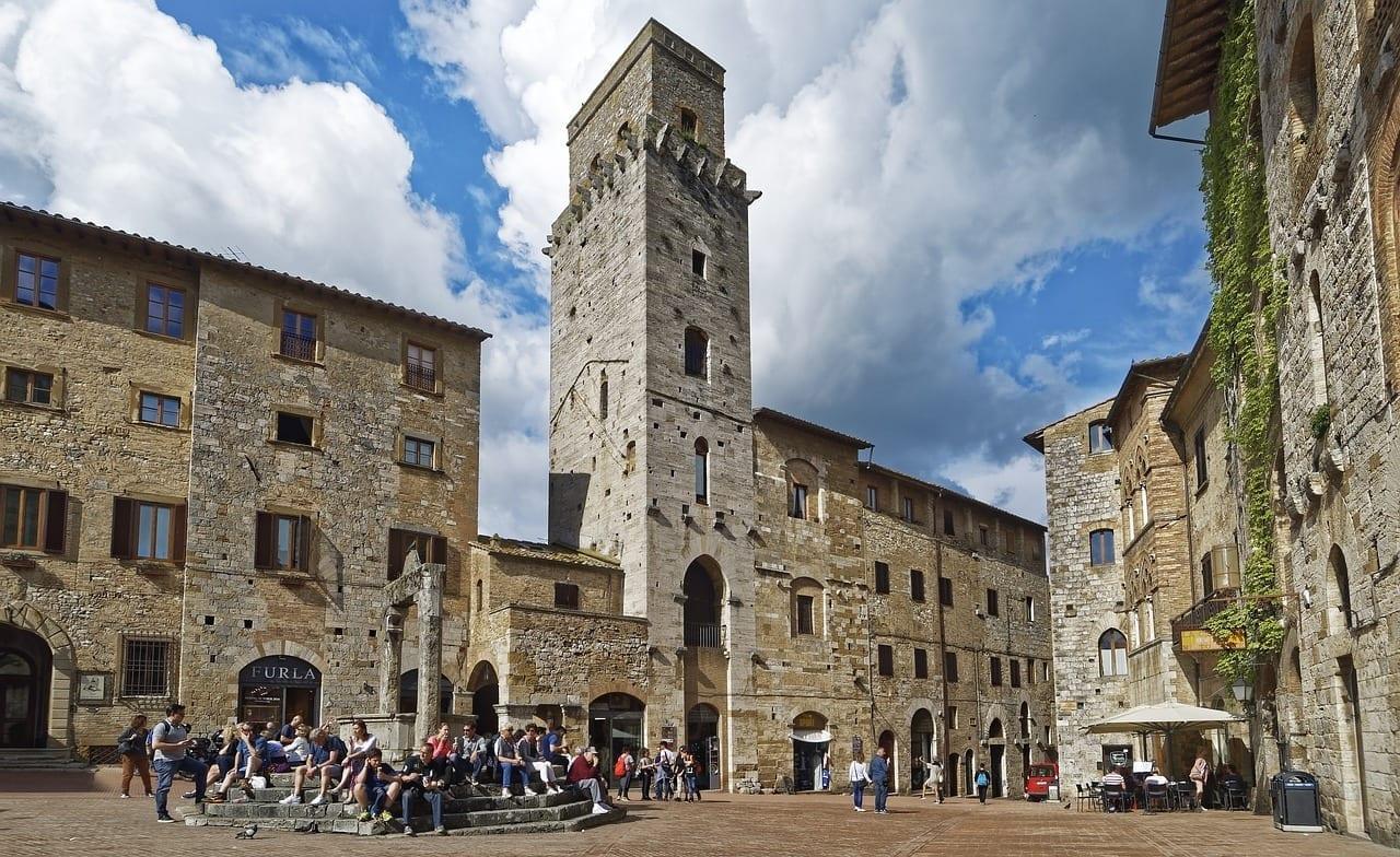 Italia Tuscany San Gimignano Italia
