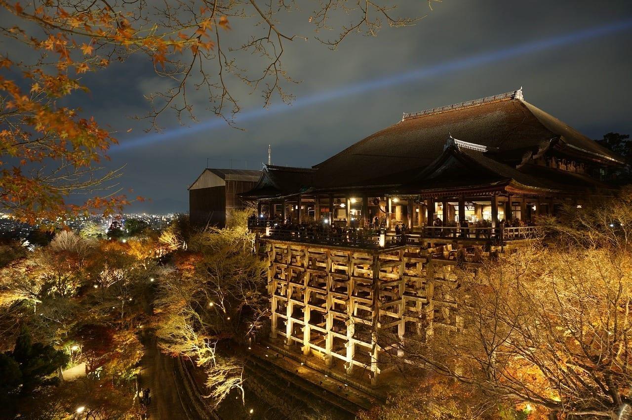 Japón Osaka Osaka De Visión Nocturna Japón