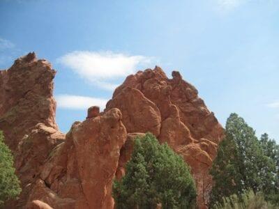 Jardín De Los Dioses Colorado Springs Jardín Estados Unidos