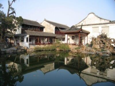 Jardín del Maestro de las Redes Suzhou China