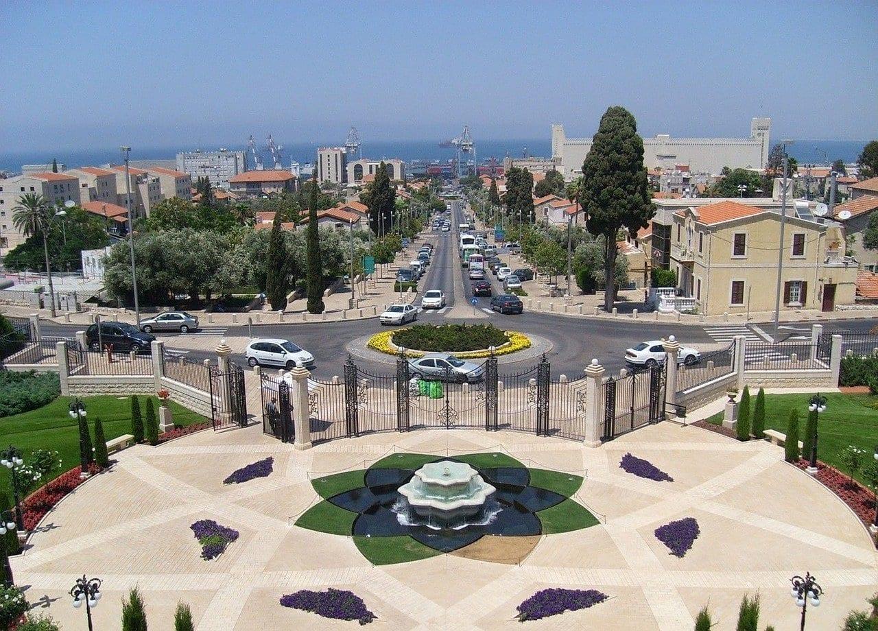 Jardines Haifa Terrazas Israel