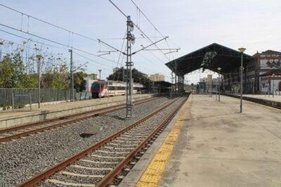 Jerez De La Frontera Estacion De Ferrocarril Estación España
