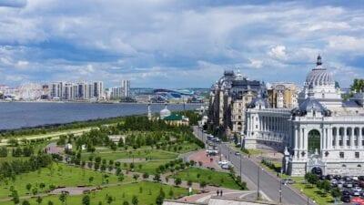 Kazan Ciudad Arquitectura Rusia