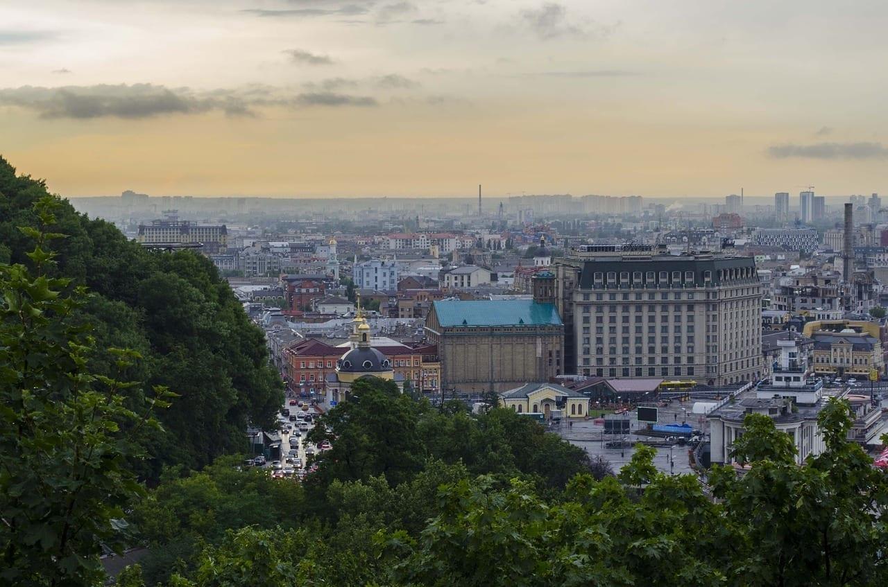Kiev Panorama Falda Ucrania
