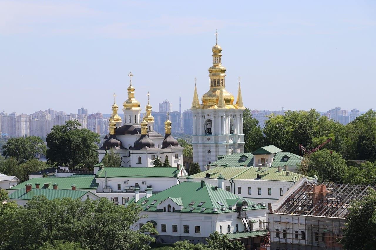 Kiev Pechersk Lavra Iglesia Kiev Ucrania