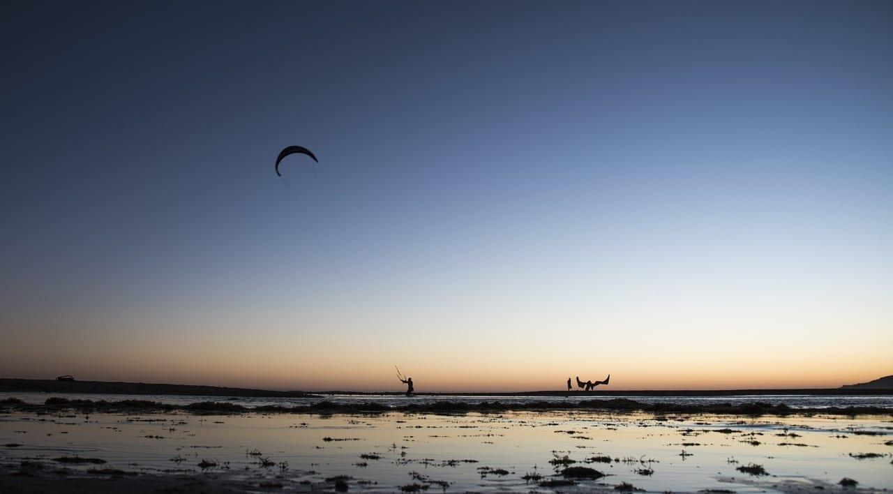 Kitesurf Tarifa Atardecer España