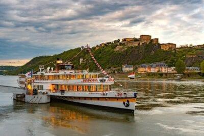 Koblenz Buque Rin Alemania