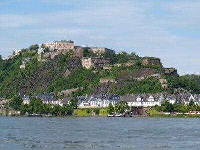 Koblenz Muro Fortaleza Alemania