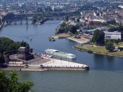 Koblenz Rincón Alemán Mosel Alemania