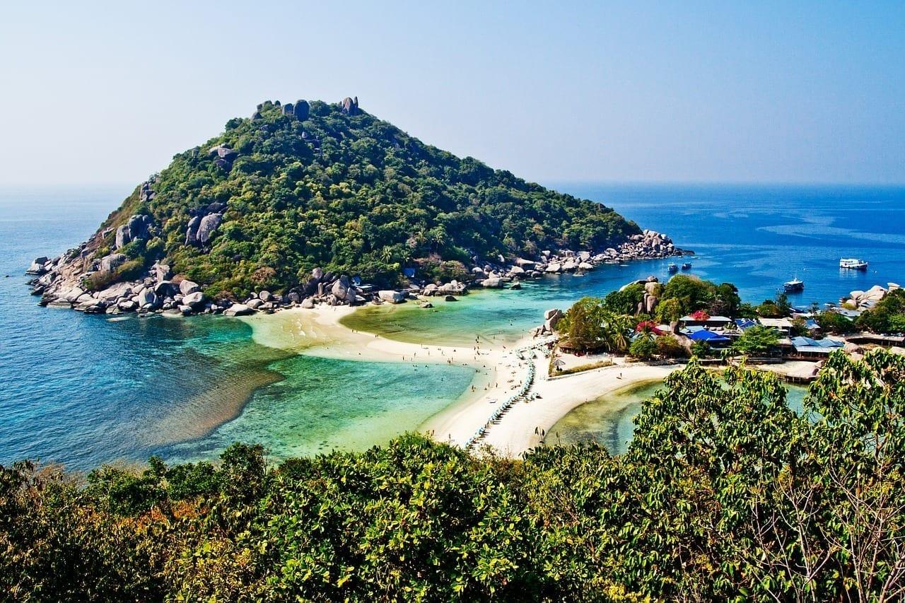 Koh Tao Tailandia Koh Nang Yuan Tailandia