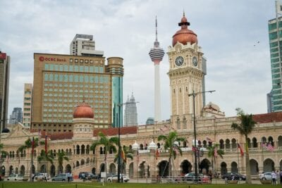 Kuala Lumpur Edificio Urbano Malasia