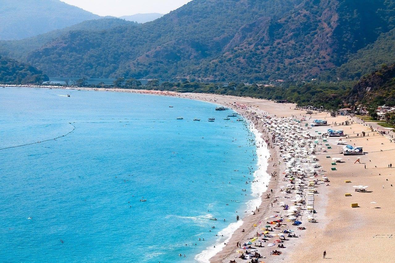 ölüdeniz Fethiye Mar Muerto Turquía